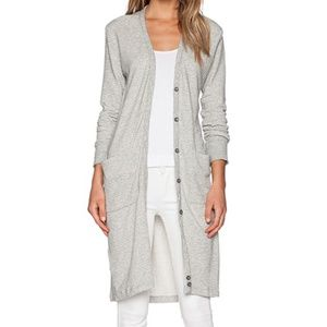 James Perse Striped Cardigan NWT - Size 0